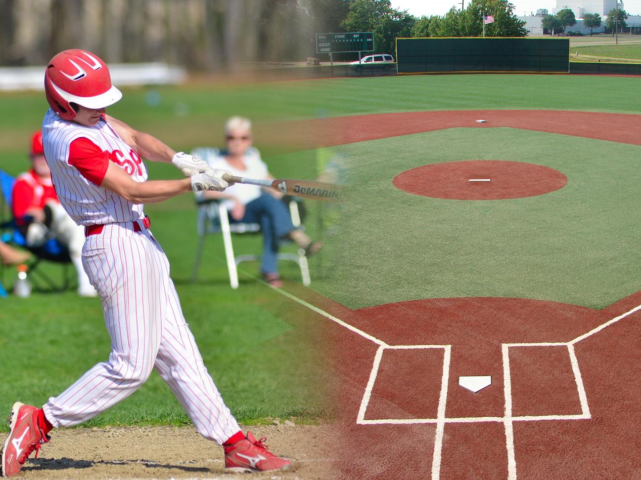 Artificial Turf is a Hit Among High School Baseball Teams
