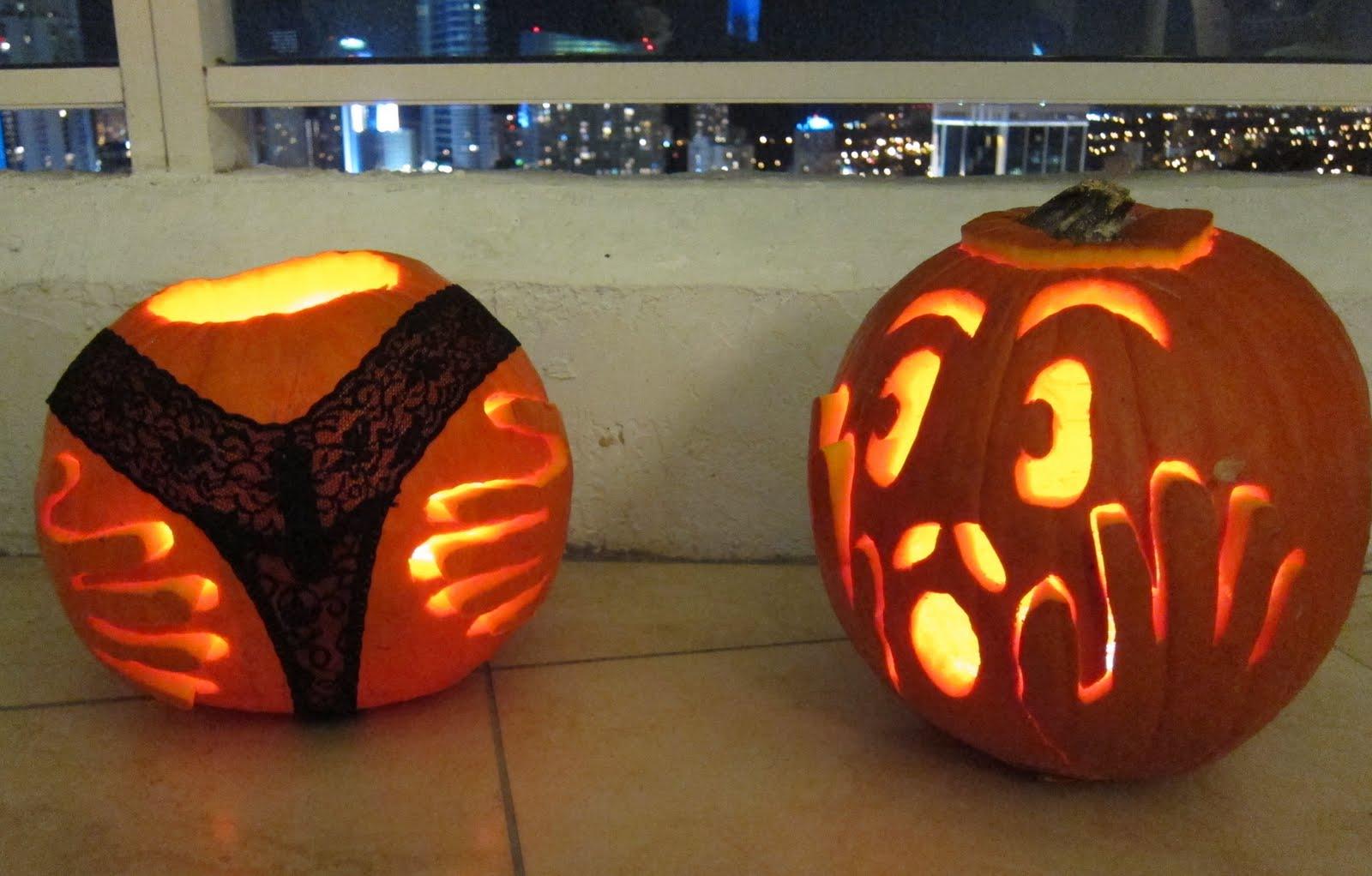 artificial grass carve your pumpkin ideas - Pumpkin Ideas