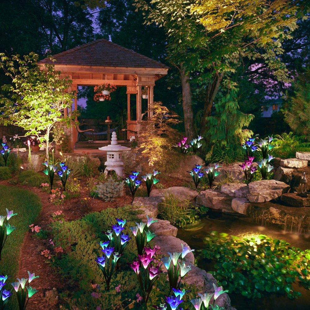 Multi-color Outdoor Garden Lights