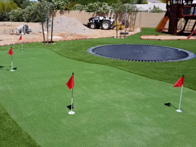 Putting Green, Backyard Putting Green Rosemead, California