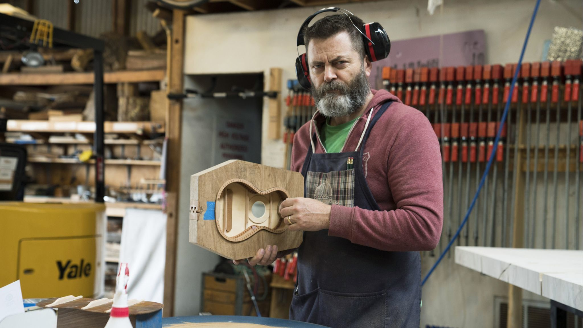 Why woodworker (and actor) Nick Offerman wants you to unleash your inner crafter