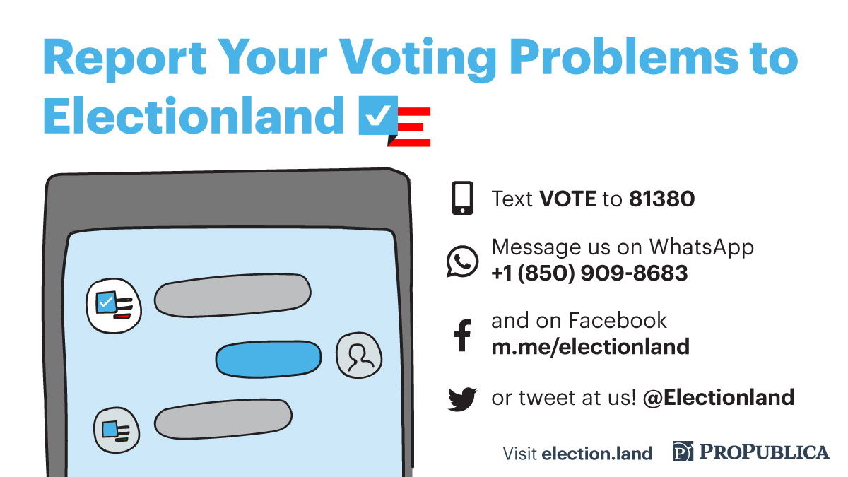 Tell Us About Voting Problems During the Midterm Elections