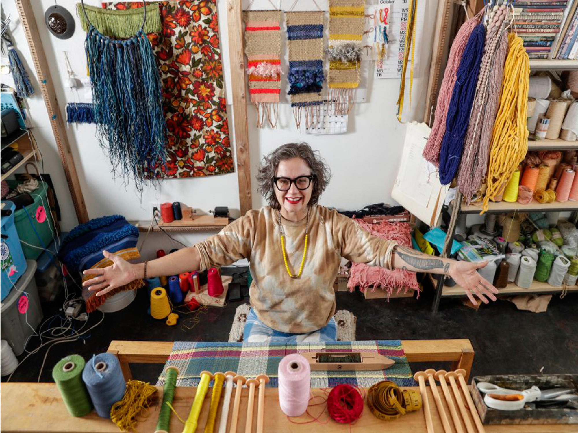 Meet the Makers: A SoCal artist weaves her way to a new career