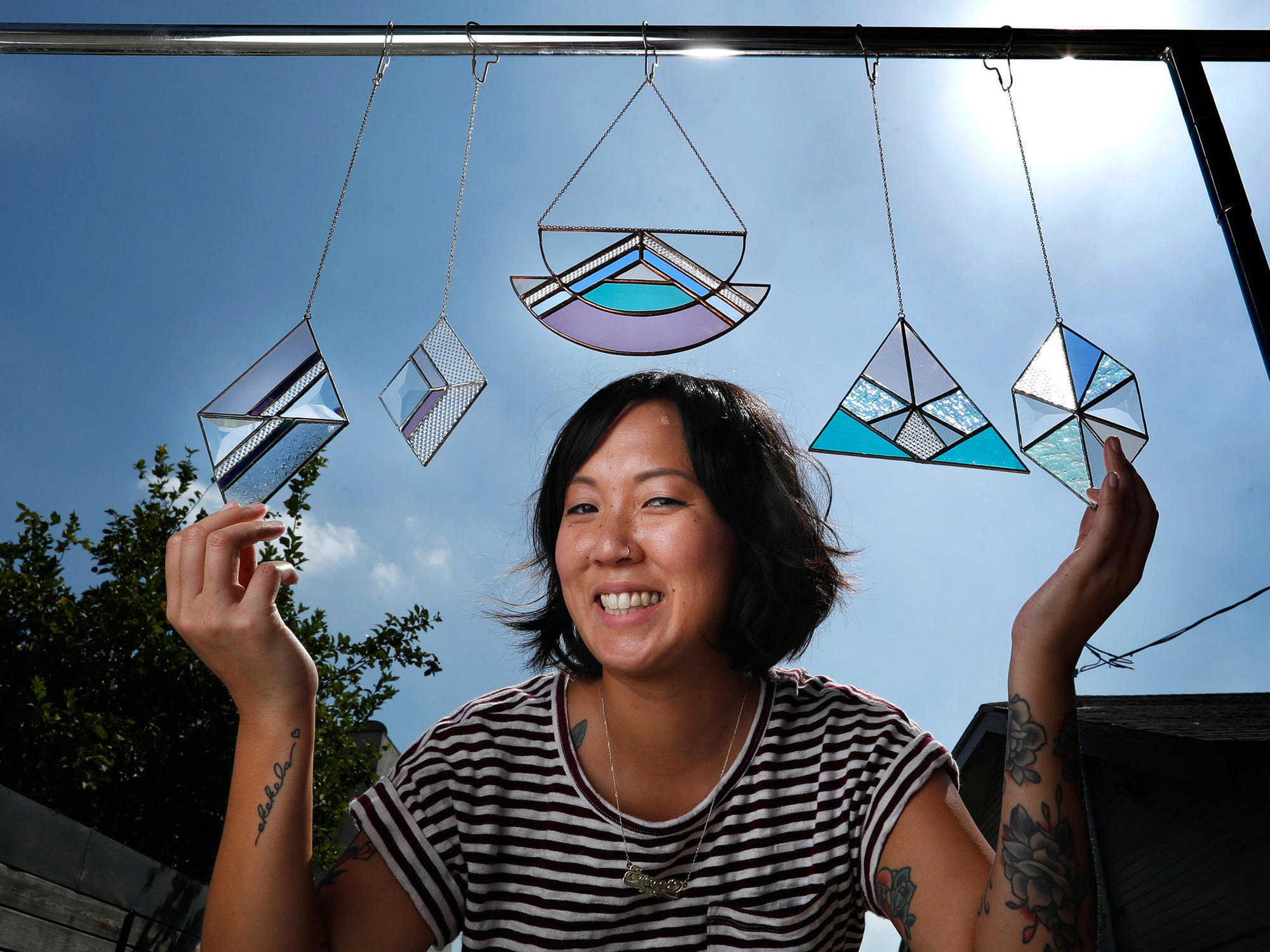 Makers: For stained glass artist Janel Foo, its all about the colors