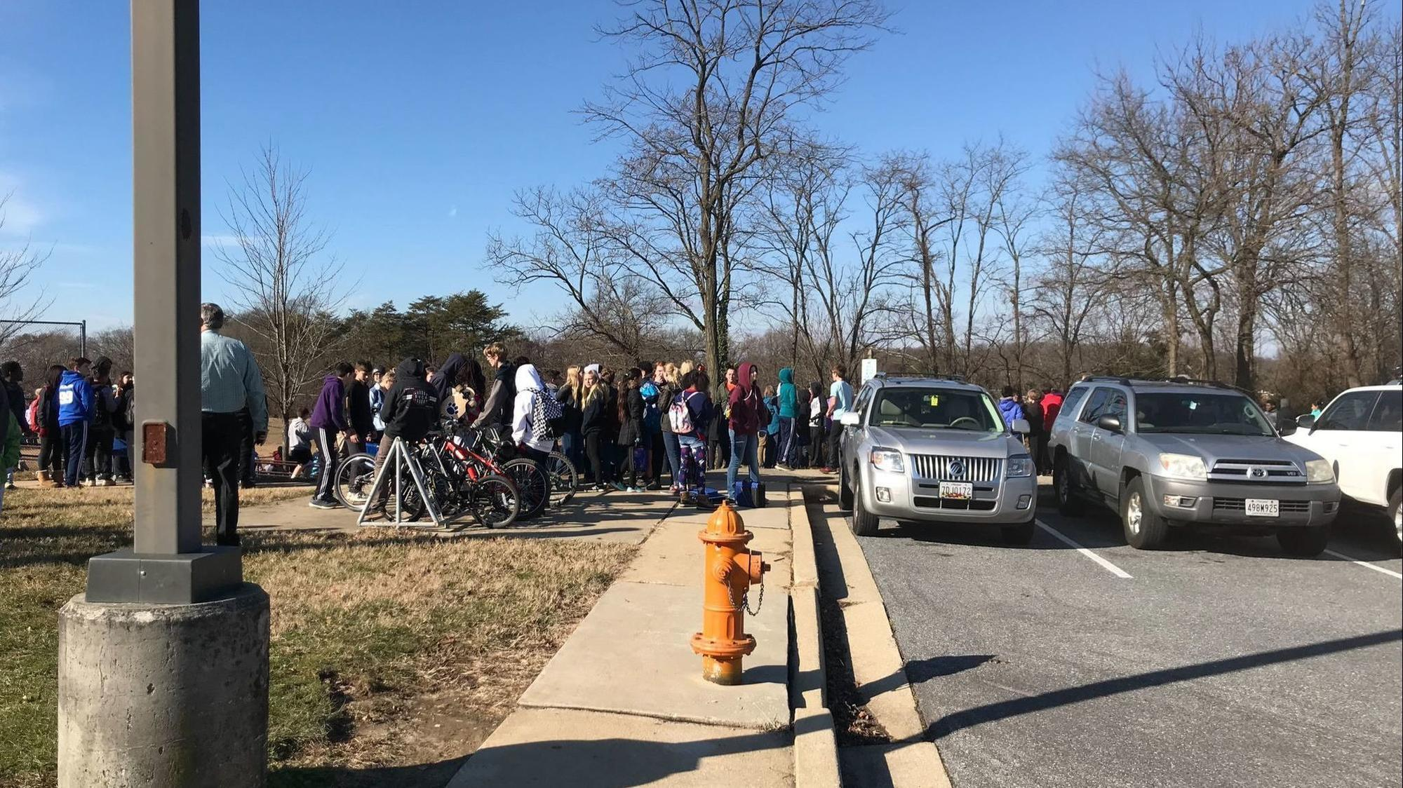 All-clear given after Catonsville Middle School evacuated for strange odor