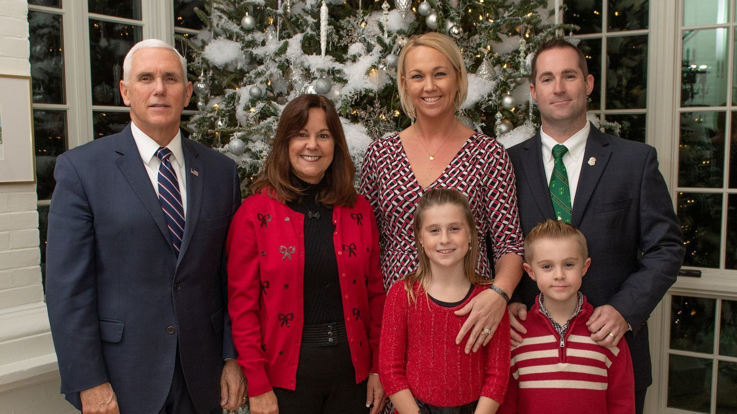 Vice President Mike Pence spends evening with Bel Air family