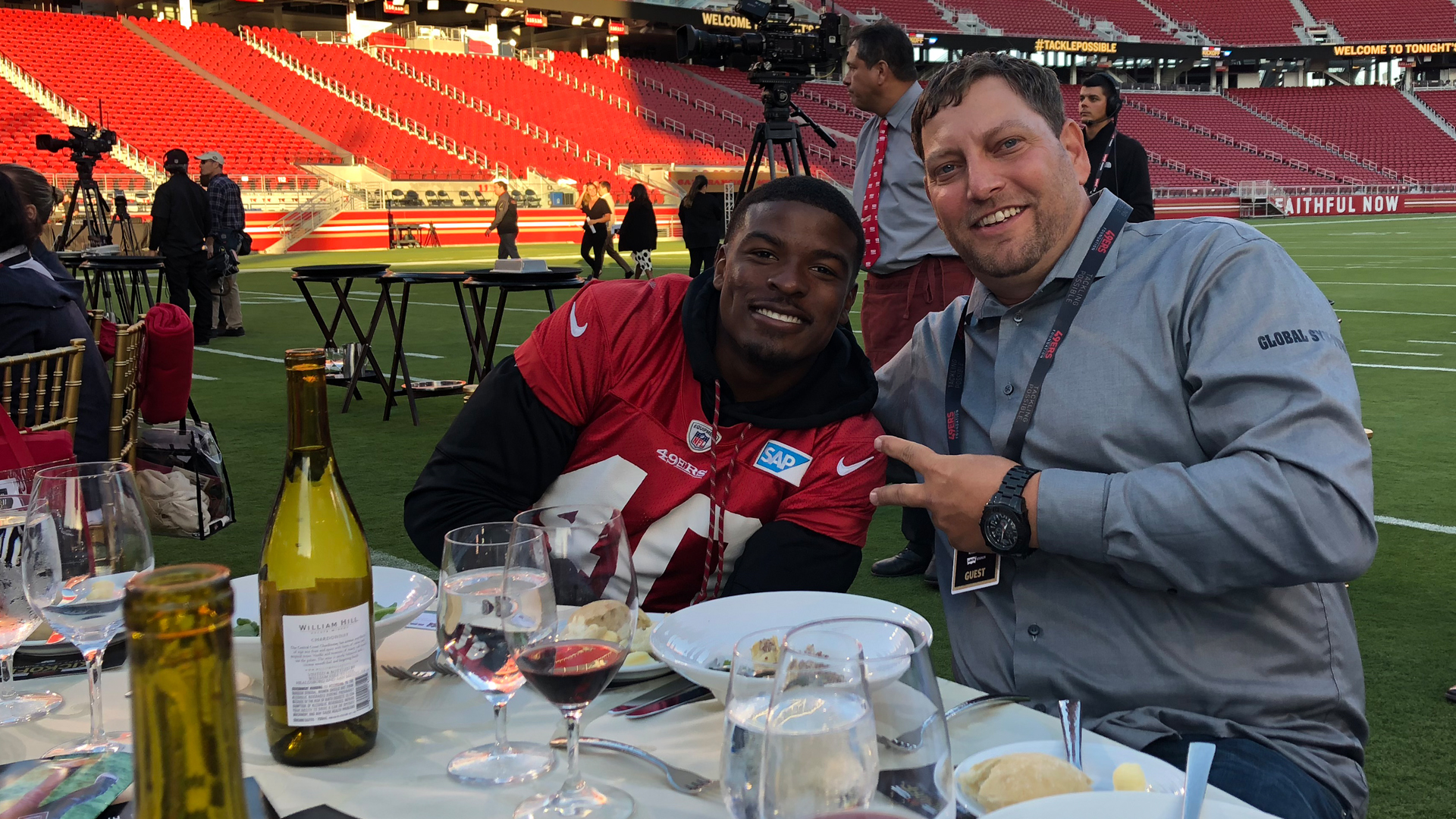 Dave Maronic San Francisco 49ers Global Syn-Turf partnerships