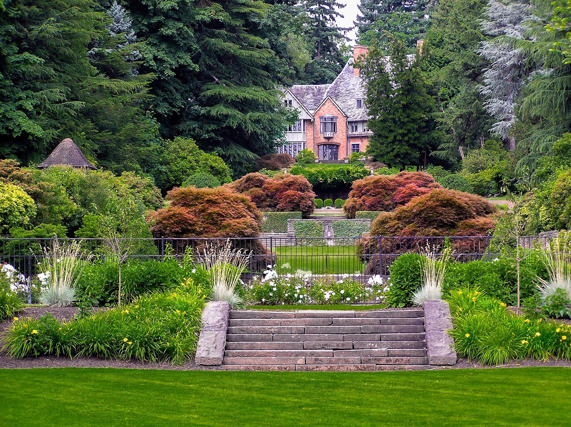 Symmetrial Landscape Design