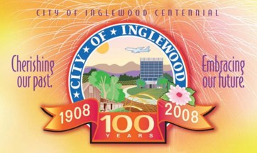 Artificial grass, synthetic turf in Inglewood, California