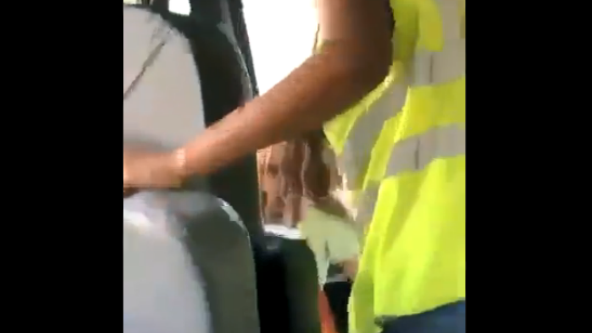Videos Allegedly Show Indiana Bus Driver Letting Kids Drive