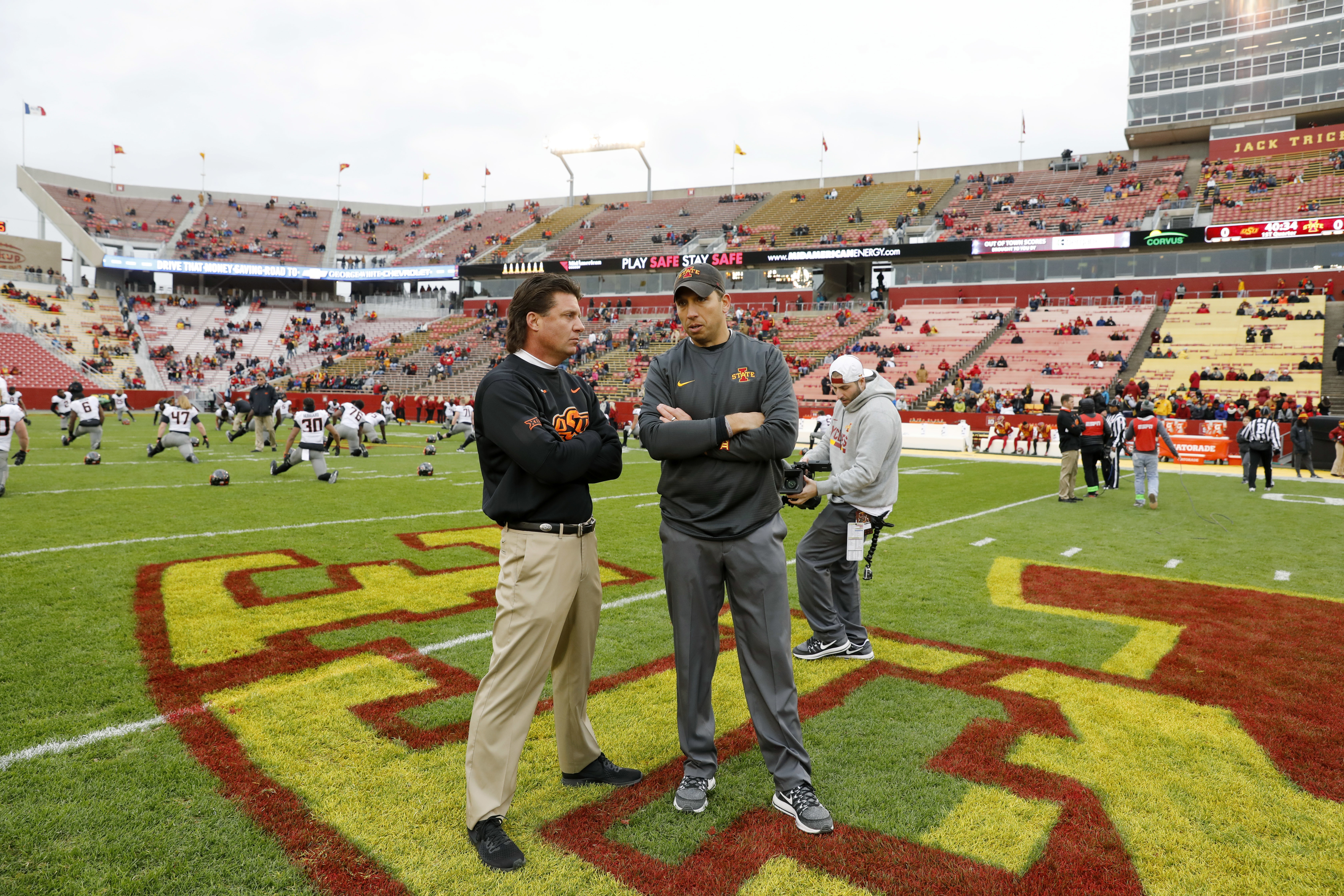 Defense key in No. 25 Oklahoma St matchup with Iowa State