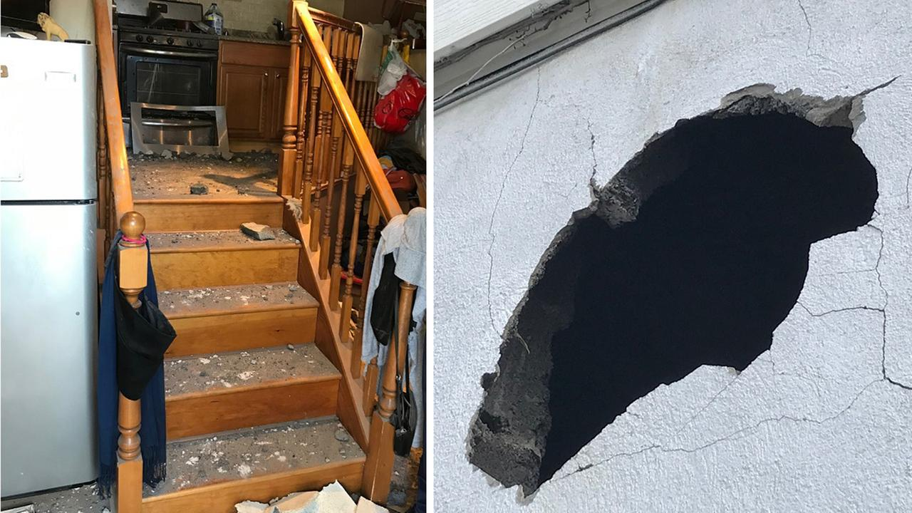 Officials investigating mystery object that blew hole into NJ home