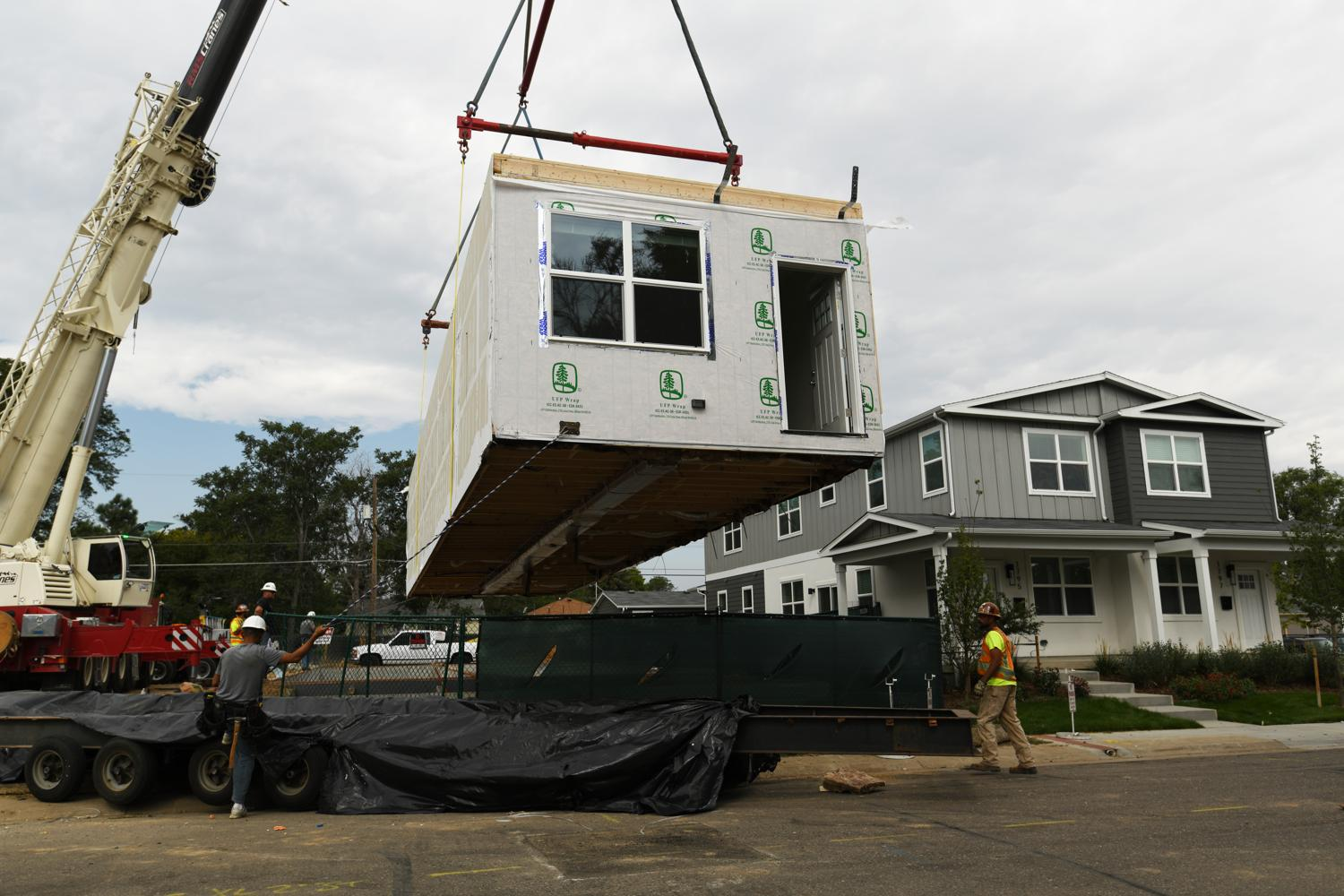 Housing factories are spreading across the West, and one is shipping to Colorado