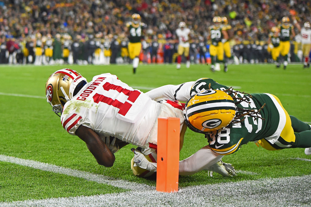 Niners Cant Hold Late Lead vs. Packers