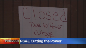 PGE Plans To Have 70 Percent Of Power Back By Midnight After Shutting Down For High Winds