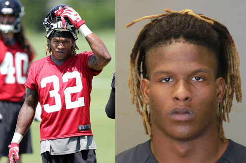 Ex-Georgia high school star who was cut by Falcons accused of having sex with child