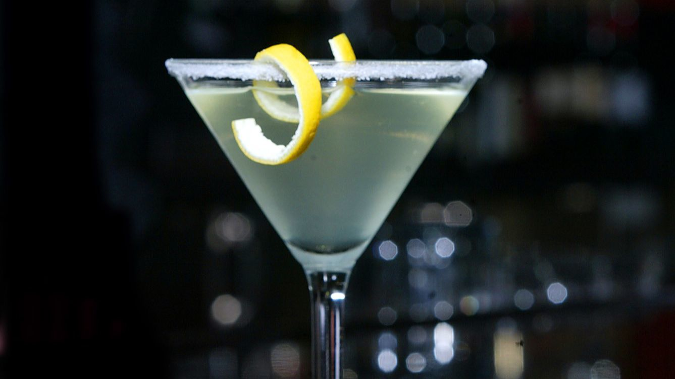 When life hands us lemons, we make lemon-drop martinis. Cheers!