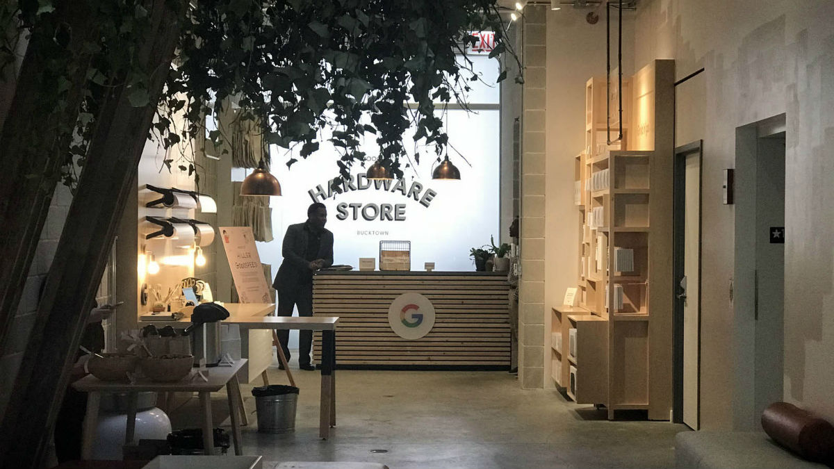 Look Inside Googles New Hardware Store in Chicago