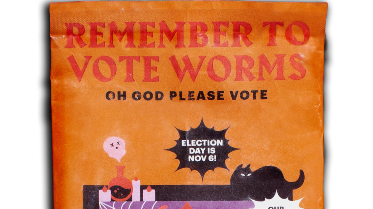 Cards Against Humanity Selling Vote Worms for Halloween