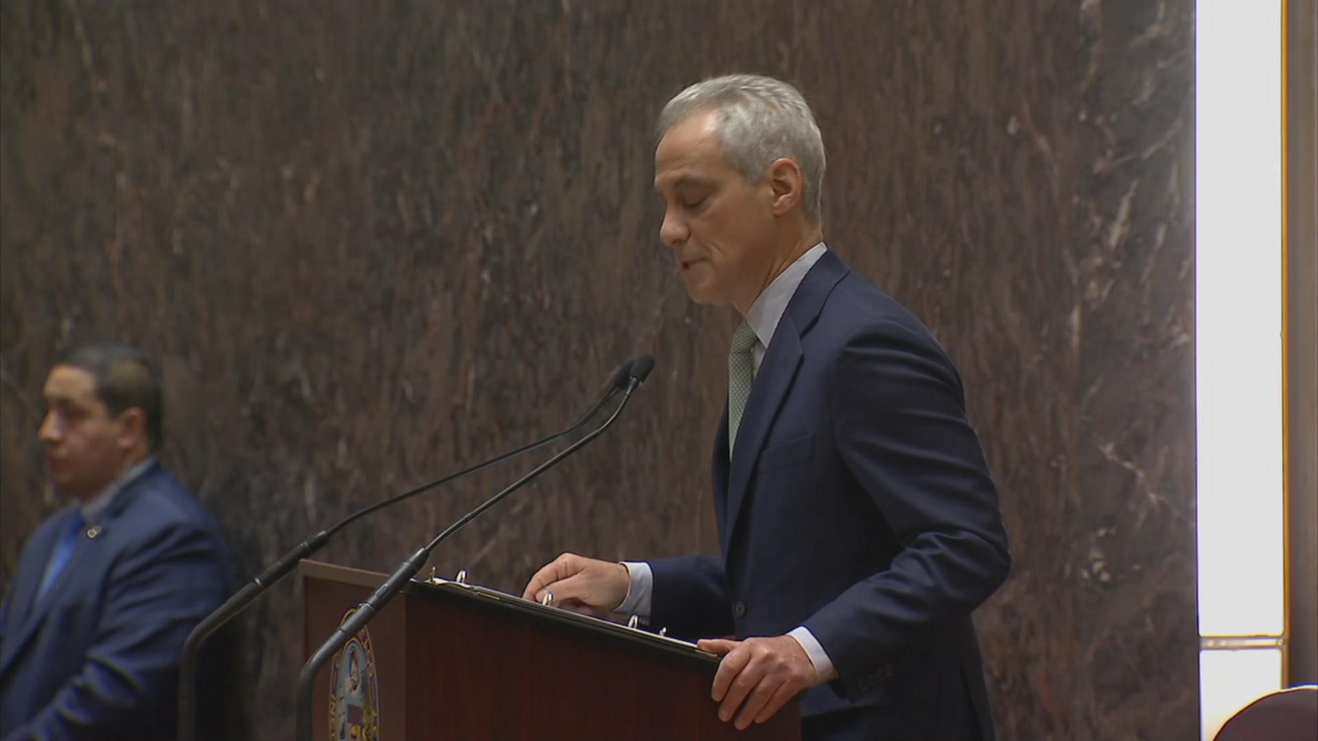 Read Mayor Rahm Emanuels Full 2019 Budget Address