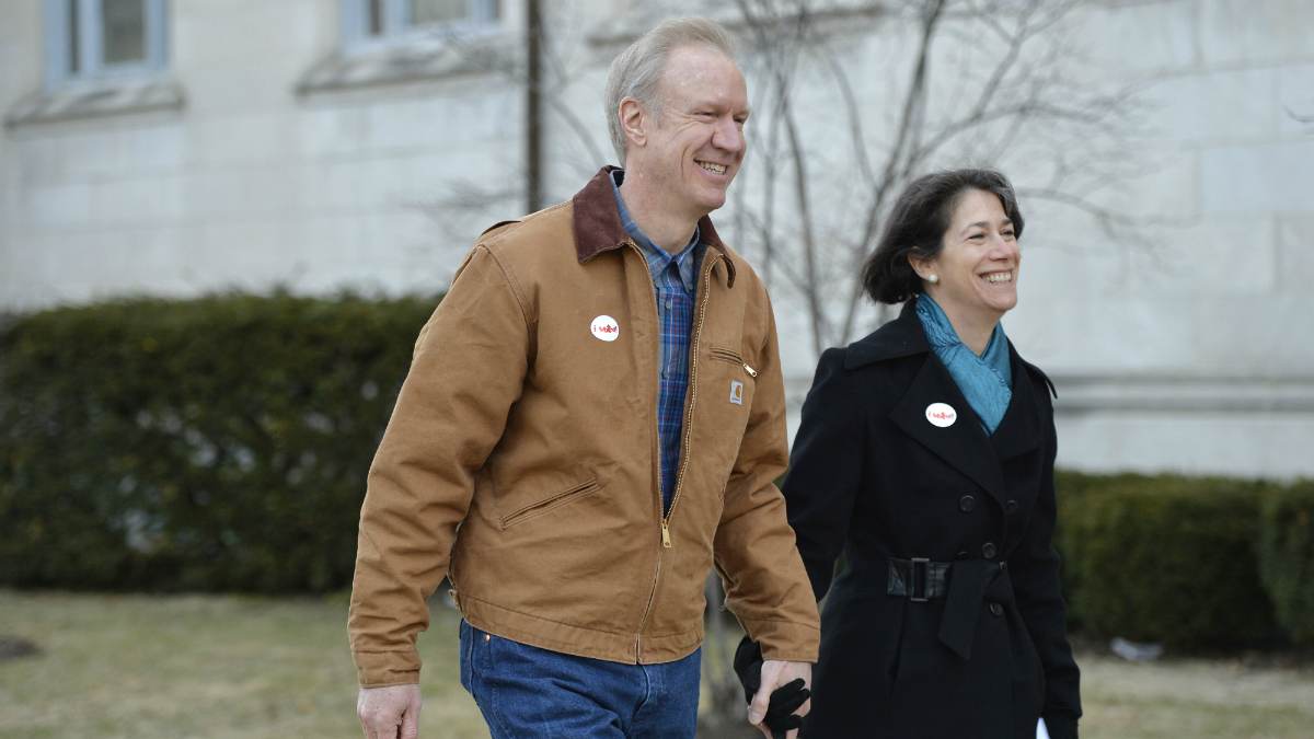 Rauners, Pritzkers Made $54 Million in 2017, Per Tax Returns