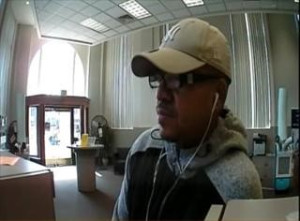 Search On For Man Who Robbed East Sacramento Bank