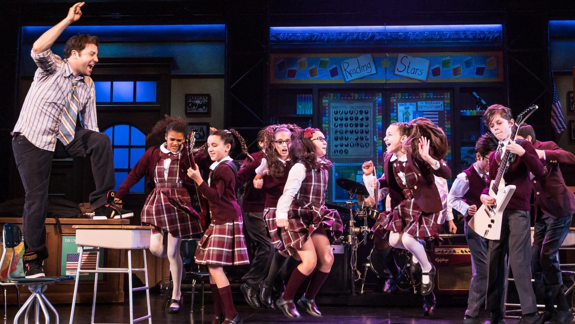 Theater review: Juvenile School of Rock pumps up the volume