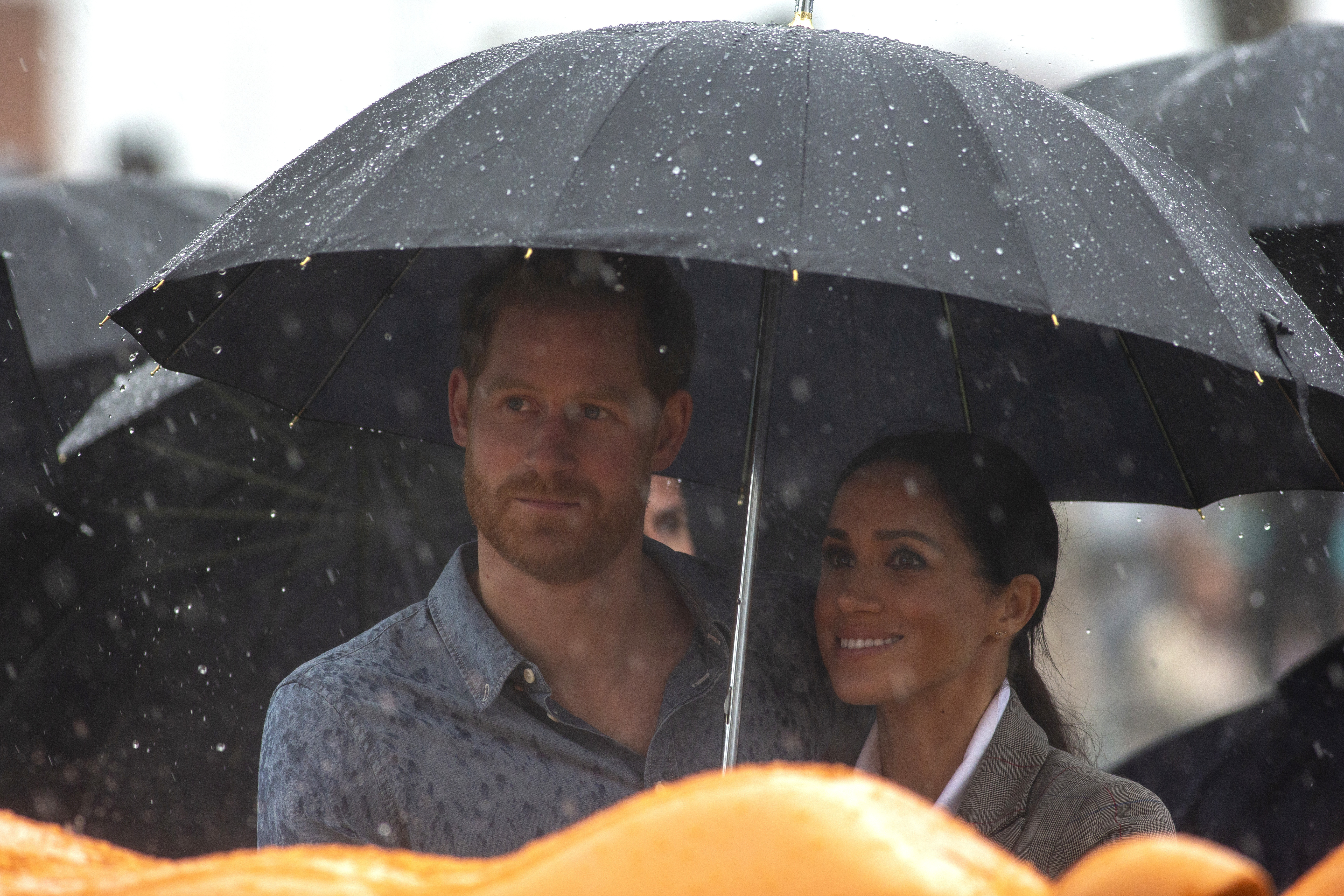 Harry and Meghan bring rain to drought-stricken Outback town during Australia trip