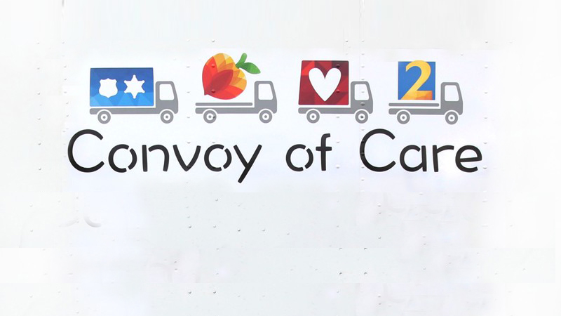 Convoy of Care collecting supplies for South Georgia victims of Hurricane Michael