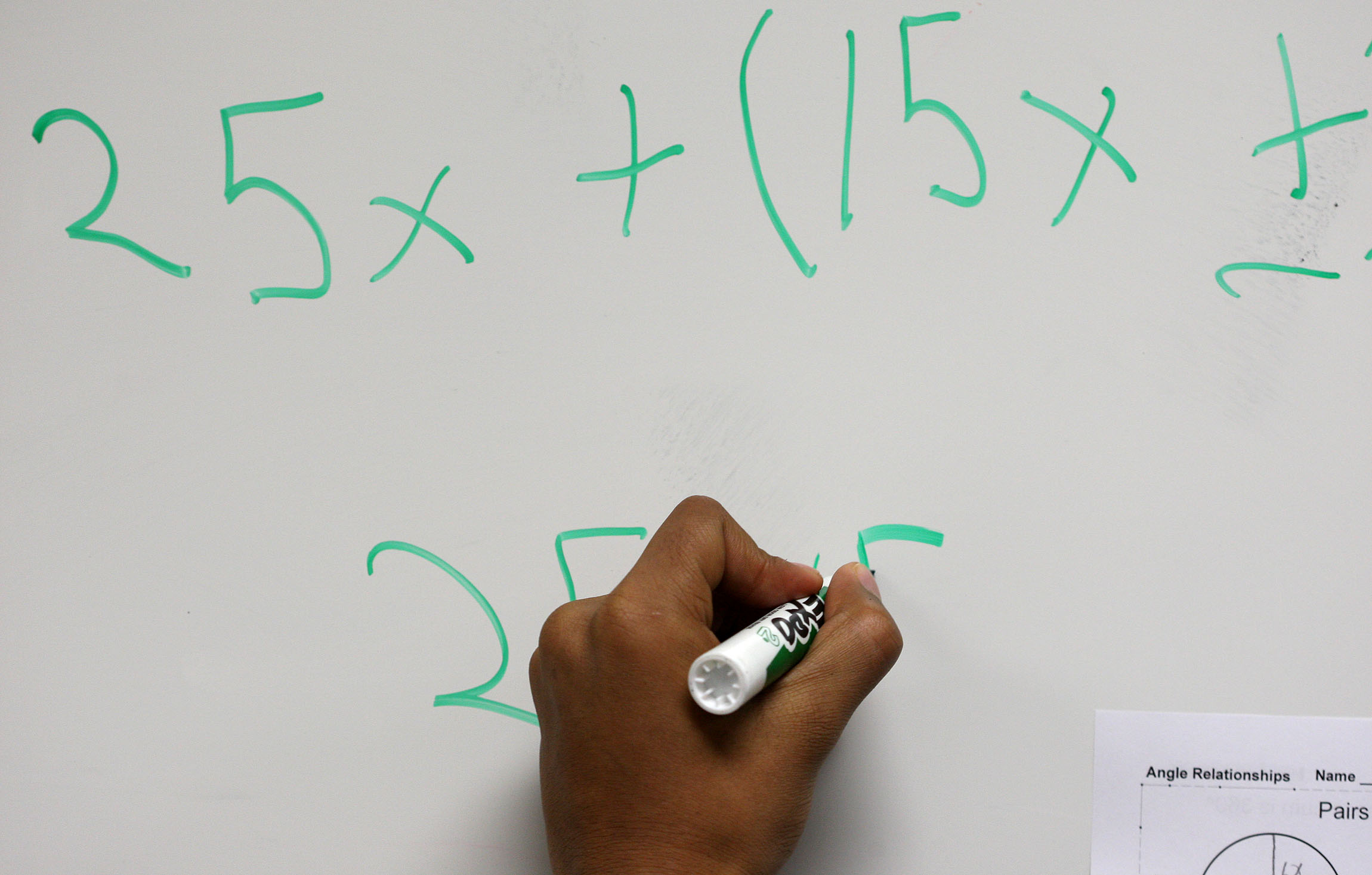 Falling ACT scores: Does U.S. know how to teach math effectively?