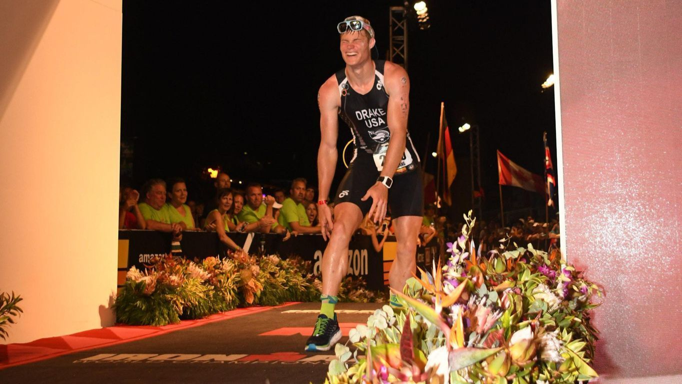 Youngest triathlete makes West Point, hometown of Towson proud