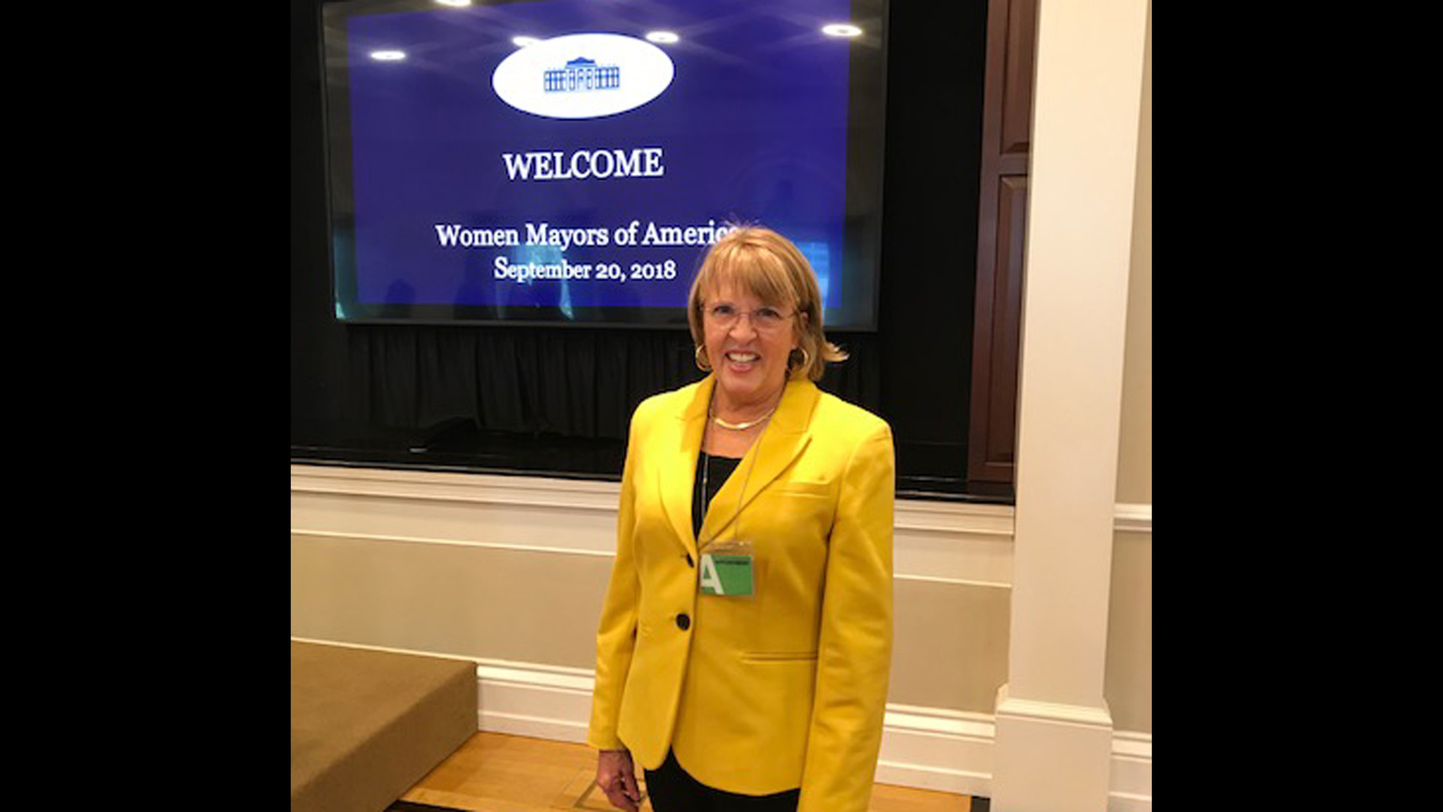 Bel Air mayor attends White House conference
