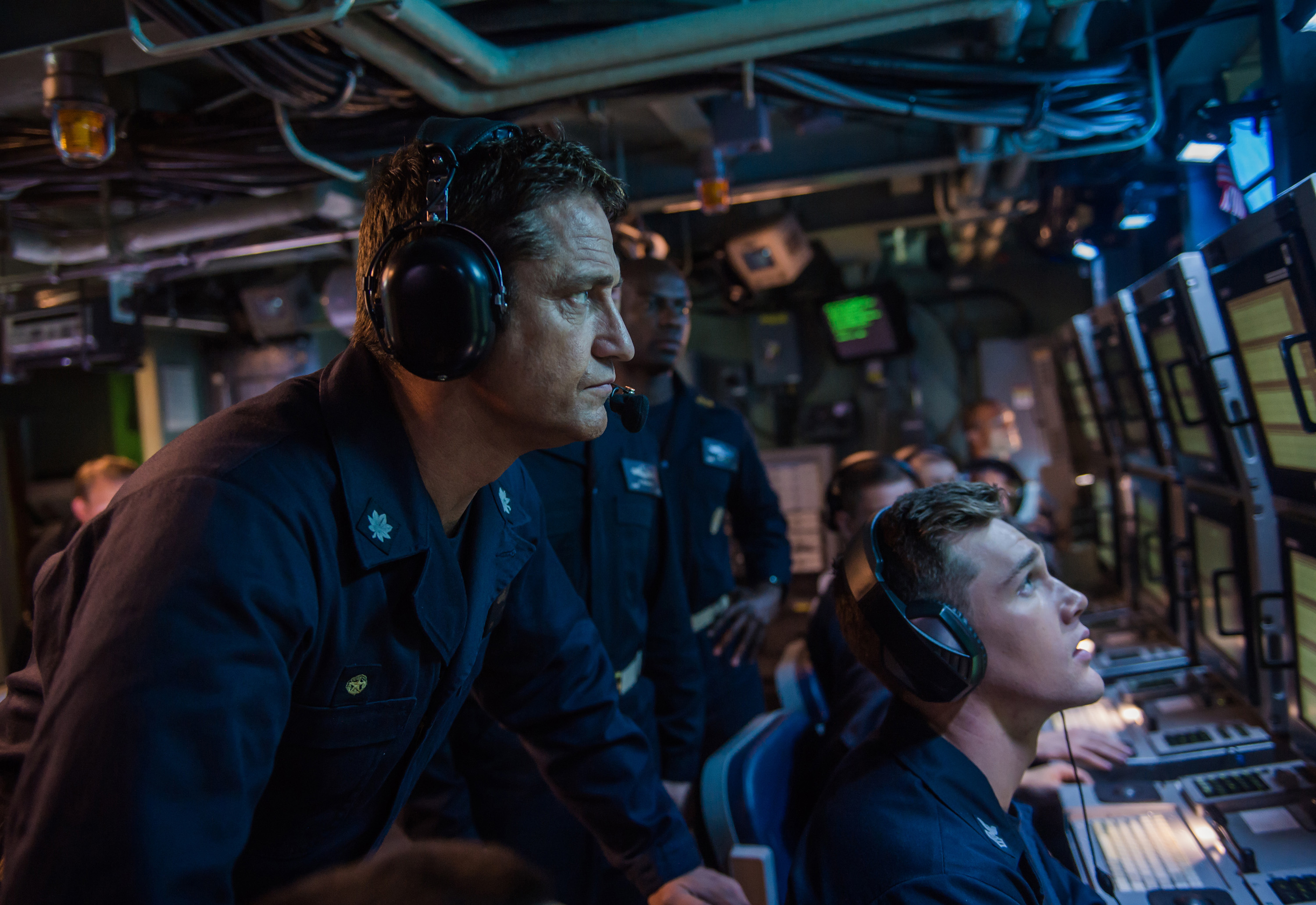 Hunter Killer so full of military stereotypes its almost parody