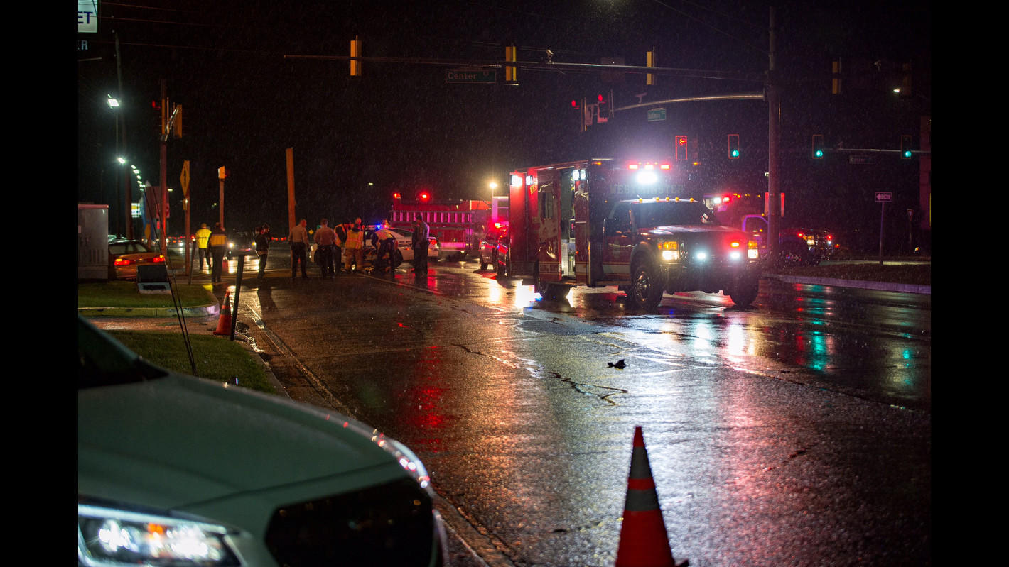 Woman dies after being struck by truck in Friday night crash that closed Md. 140