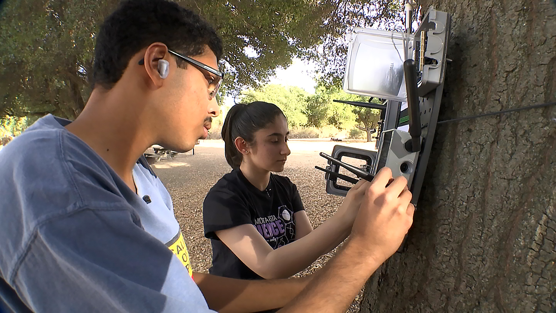 South Bay Teens Getting Attention For Smart Wildfire Sensor