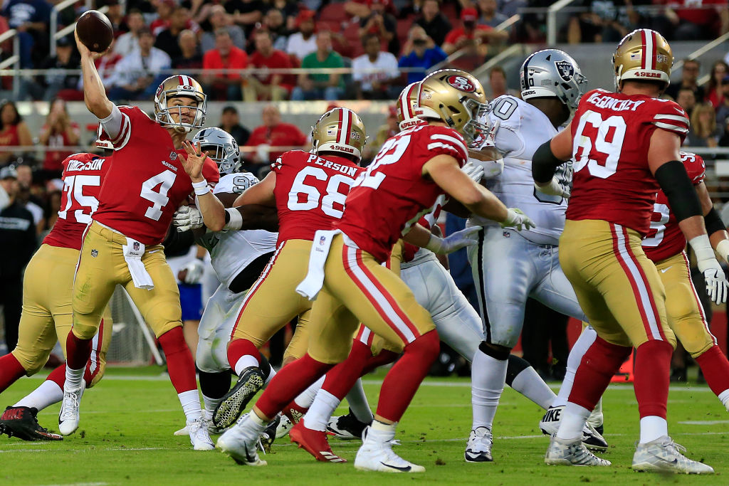 Mullens Not Set in Stone as 49ers Starting QB