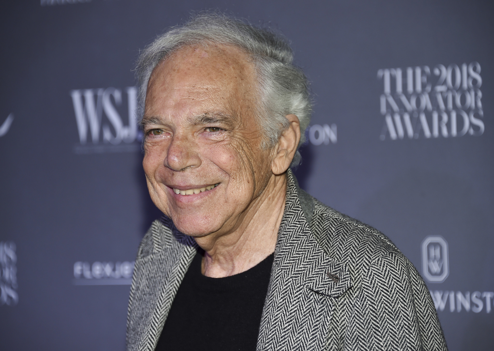 Ralph Lauren made an honorary British knight - the first American fashion designer to hold the title