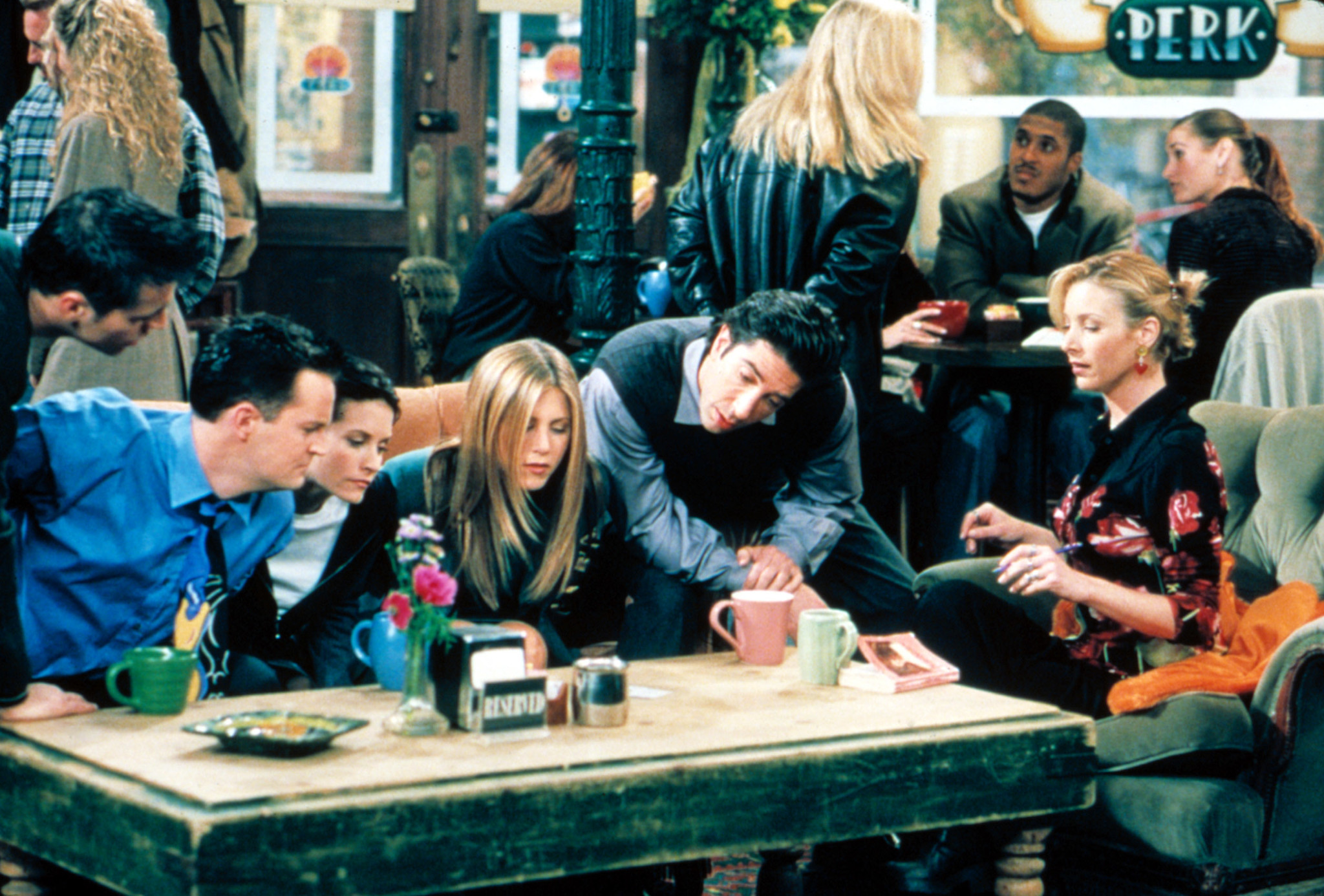 Friends forever: How the show about pals in a coffee shop became a hit