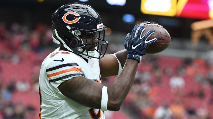 Dion Sims Remains Out of Bears Practice