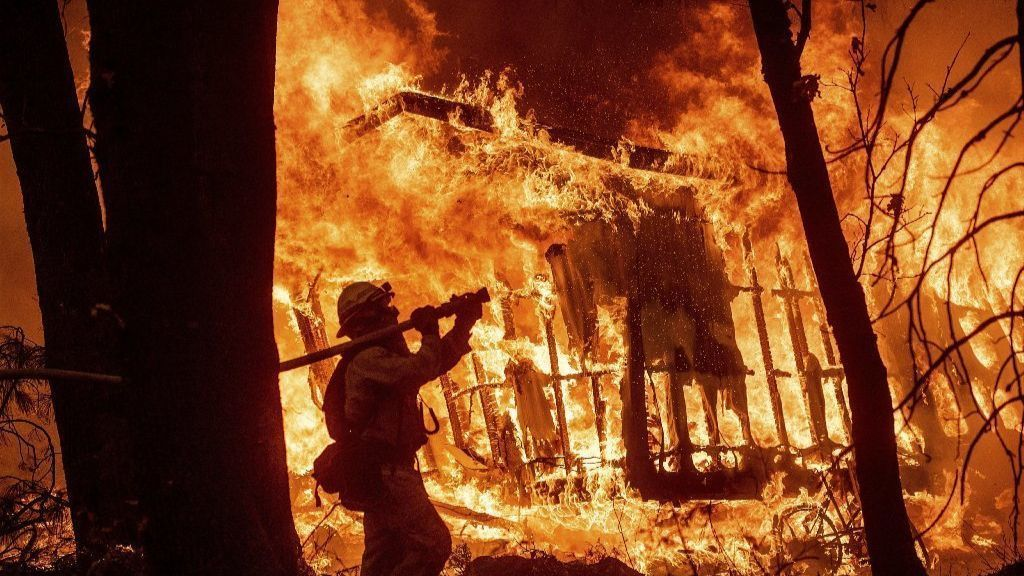 Family loses home in California wildfires, but finds refuge in Annapolis area