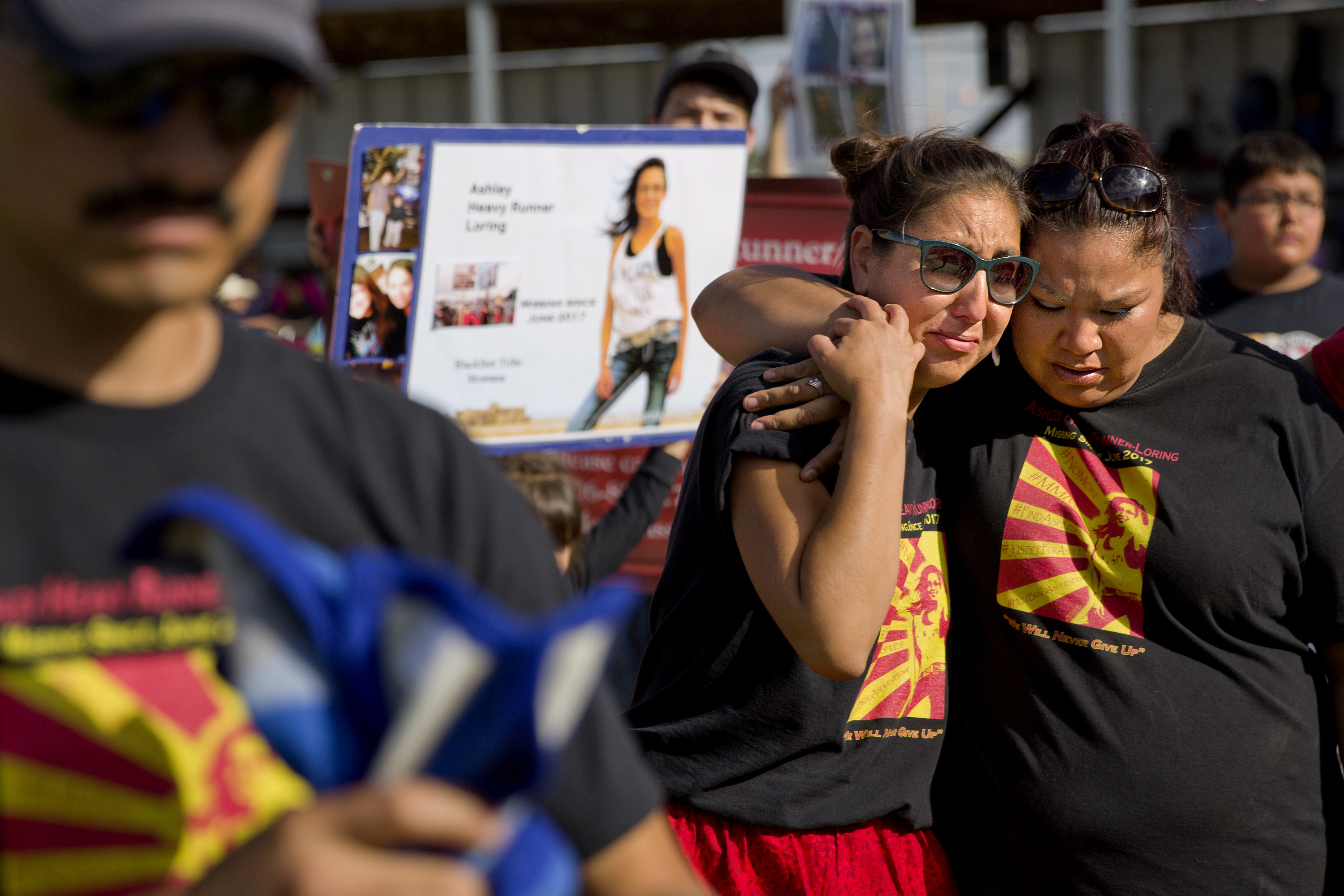 The Latest: Native womens safety measure clears committee