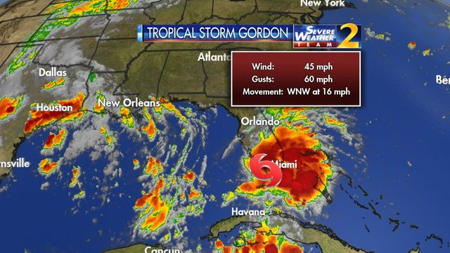 Delta warns Tropical Storm Gordon may disrupt flights