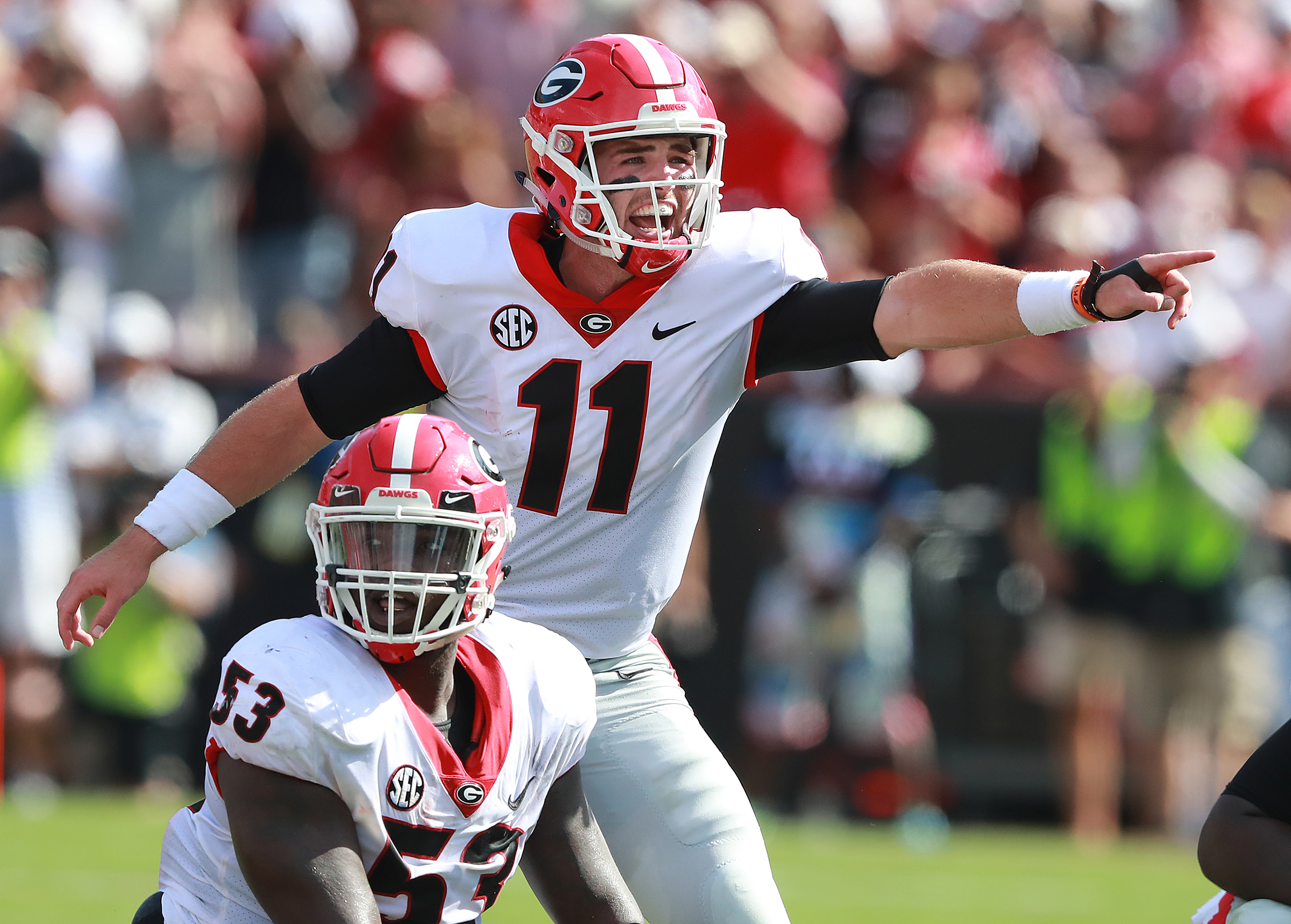 UGA maintains No. 3 ranking in latest AP poll
