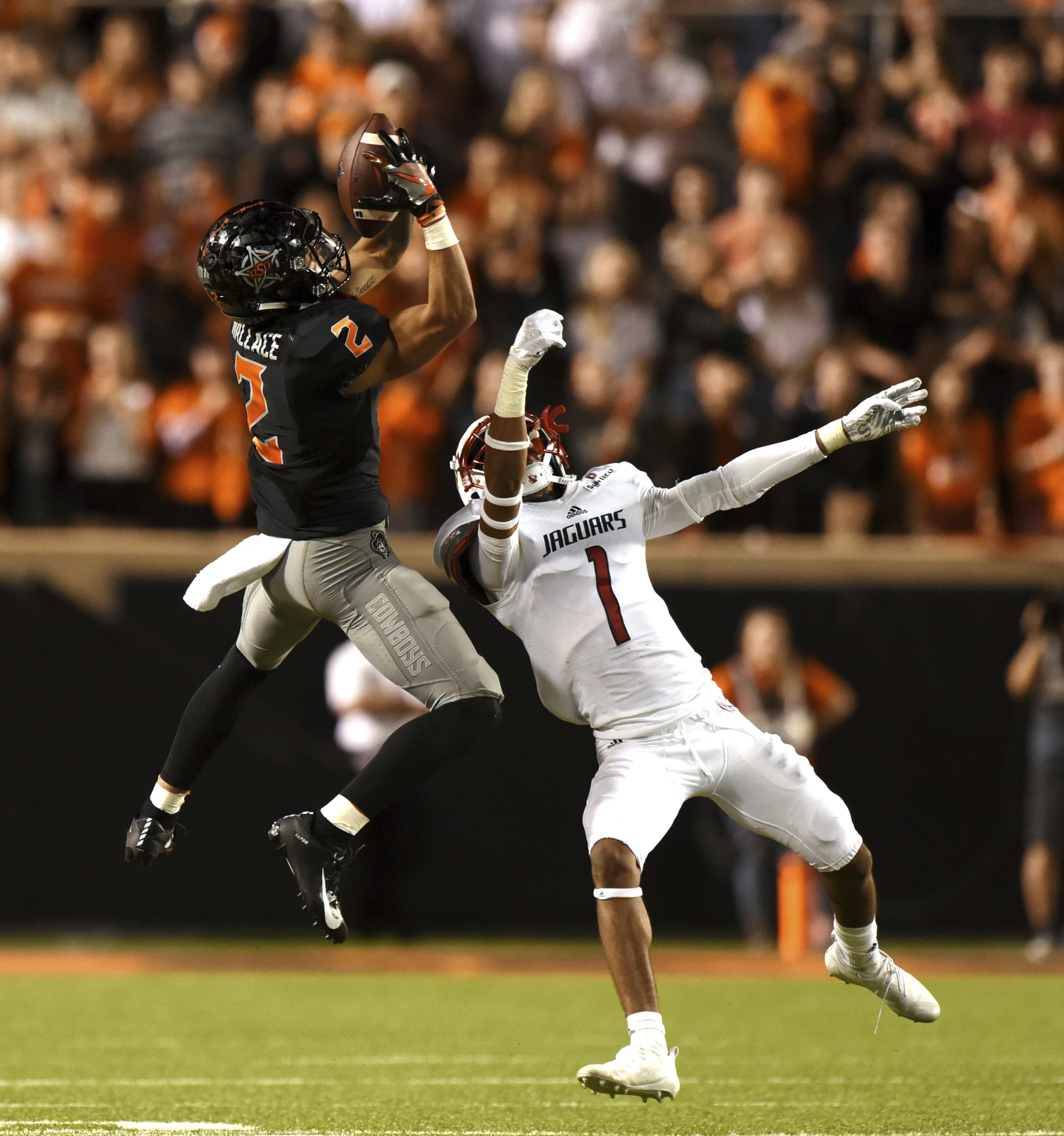 New receivers stepping up for No. 24 Oklahoma State