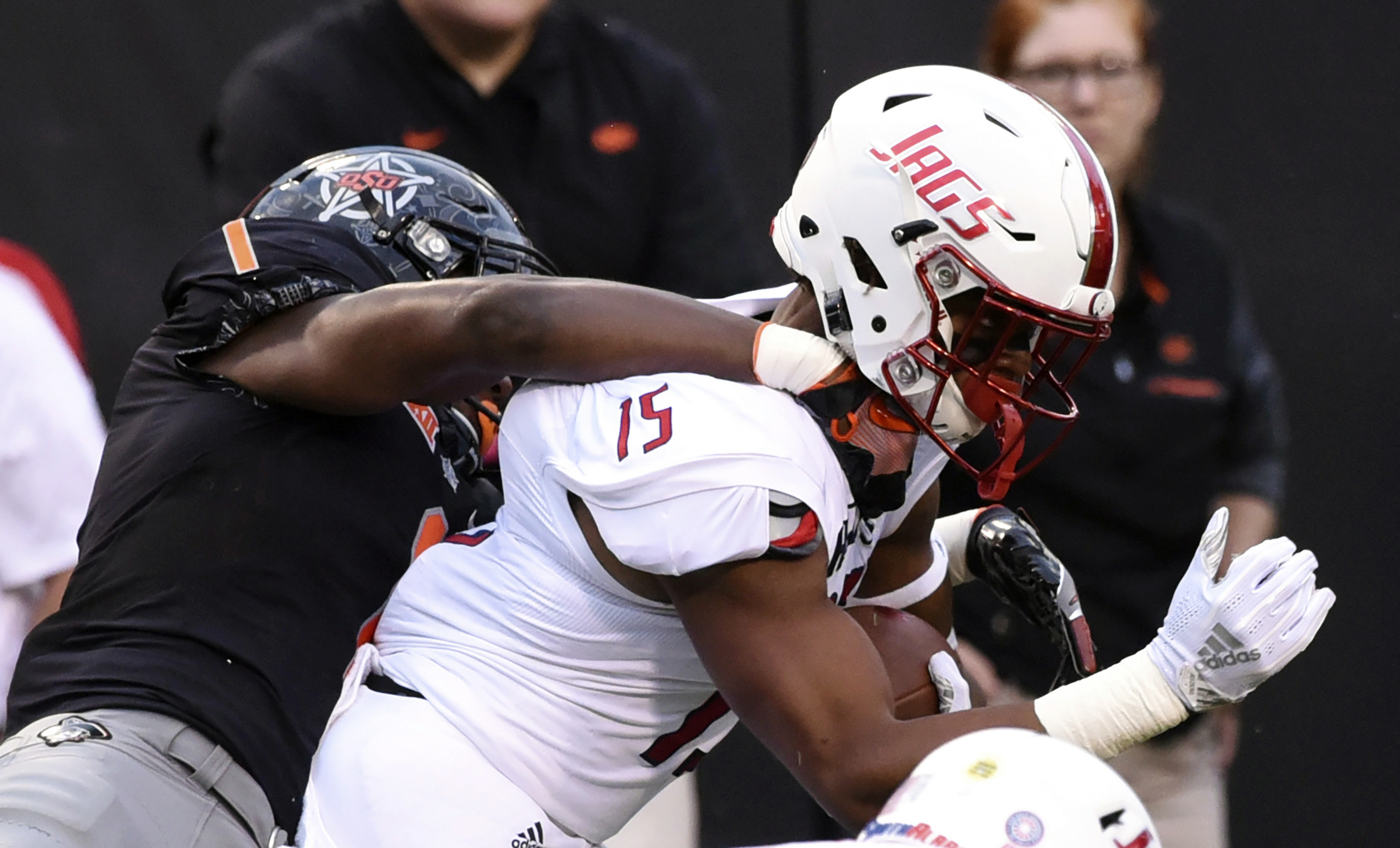 Cornelius, Oklahoma State roll over South Alabama 55-13