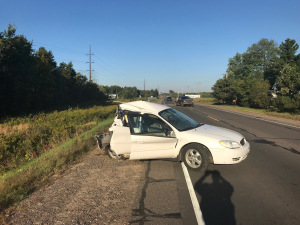Sheriff: 2 Seriously Hurt In Barron County (Wis.) Crash